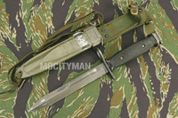 BOC M7 Bayonet with M8A1 TWB Scabbard - Genuine Military - USA Made (14254)