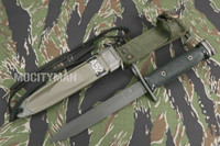 BOC M7 Bayonet with M8A1 TWB Scabbard - Genuine Military - USA Made (14339)