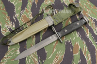 BOC M7 Bayonet with M8A1 PWH Scabbard - Genuine Military - USA Made (14295)