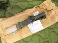 Lan-Cay M9 Bayonet with Scabbard and Manual - Unissued 1995 Model  - Genuine Military - USA Made (13023)