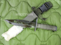 Lan-Cay M9 Bayonet with Scabbard - Unissued Late Model 2001 - Genuine Military - USA Made (13678)
