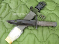 Lan-Cay M9 Bayonet with Scabbard - Unissued Late Model 2003 - Genuine Military - USA Made (13687)