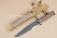 Ontario USMC OKC-3S Bayonet with Scabbard - Genuine Military - USA Made (15592)