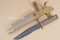 Ontario USMC OKC-3S Bayonet with Scabbard - Genuine Military - USA Made (15601)