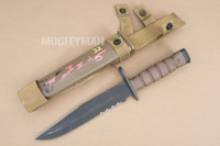 Ontario USMC OKC-3S Bayonet with Scabbard - Genuine Military - USA Made (15621)