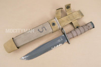 Ontario USMC OKC-3S Bayonet with Scabbard - Genuine Military - USA Made (15610)