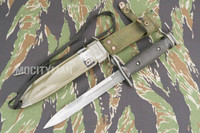 BOC M7 Bayonet with M8A1 PWH Scabbard - Genuine Military - USA Made (15968)