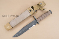 Ontario USMC OKC-3S Bayonet with Scabbard - Genuine Military - USA Made (16822)