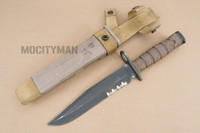 Ontario USMC OKC-3S Bayonet with Scabbard - Genuine Military - USA Made (16828)