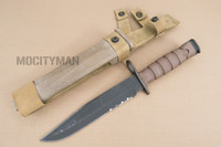 Ontario USMC OKC-3S Bayonet with Scabbard - Genuine Military - USA Made (16834)