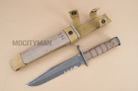 Ontario USMC OKC-3S Bayonet with Scabbard - Genuine Military - USA Made (16847)