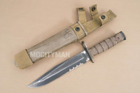 Ontario USMC OKC-3S Bayonet with Scabbard - Genuine Military - USA Made (15652)