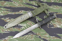 Milpar M7 Bayonet with M8A1 PWH Scabbard - Genuine Military - USA Made (17912)