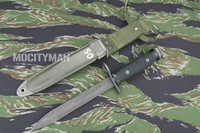 BOC M7 Bayonet with M8A1 VP Scabbard - Genuine Military - USA Made (17904)