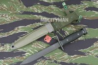 Imperial M7 Bayonet with M8A1 PWH Scabbard - Genuine Military - USA Made (15960)