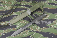 BOC M7 Bayonet with M8A1 Scabbard - Genuine Military - USA Made (17897)