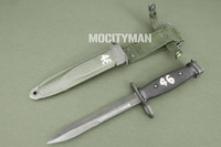 BOC M7 Bayonet with M8A1 PWH Scabbard - Genuine Military - USA Made (20527)