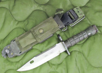 Phrobis M9 Bayonet with Scabbard - 3rd Generation - USA Made