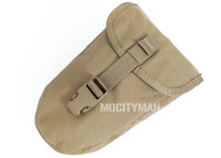 USMC Military Coyote Entrenching E Tool Shovel Carrier Case Pouch - Genuine - NEW - USA Made
