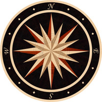 "Sailors Wheel - Eclipse 74"" (Maple)"