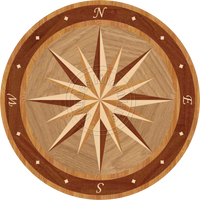 Sailors Wheel II - 24""