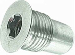 Gundrilled Axles Aluminum Axle Plug