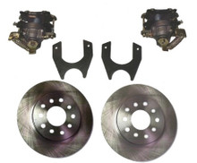 Weld On Rear Disc Brake Kit with Emergency Brake Calipers