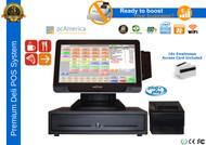 "Premium Deli Complete POS System With 10.4"" Media Customer Display"