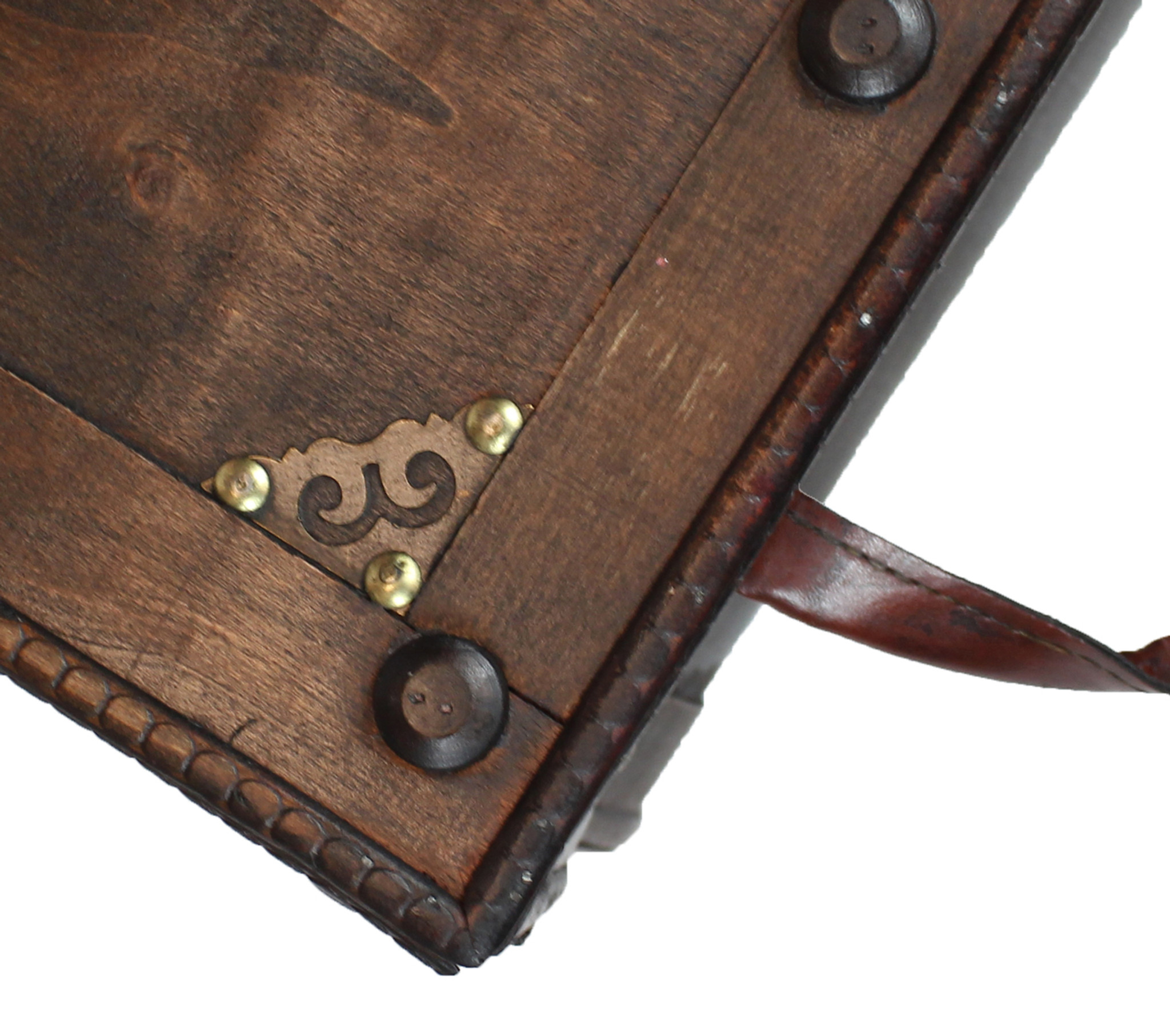 Superior ... Antique Style Distressed Wooden Pirate Treasure Chest, Coffee Table  Trunk ...