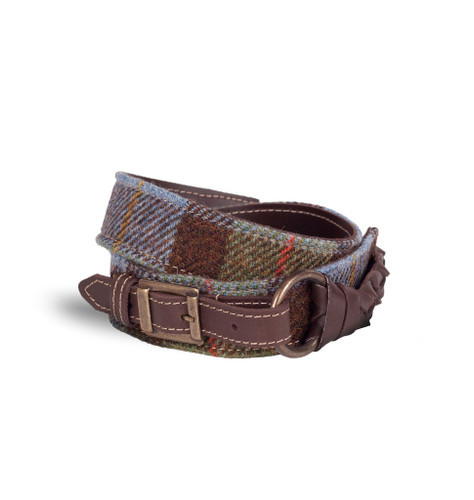Braided Tweed Belt