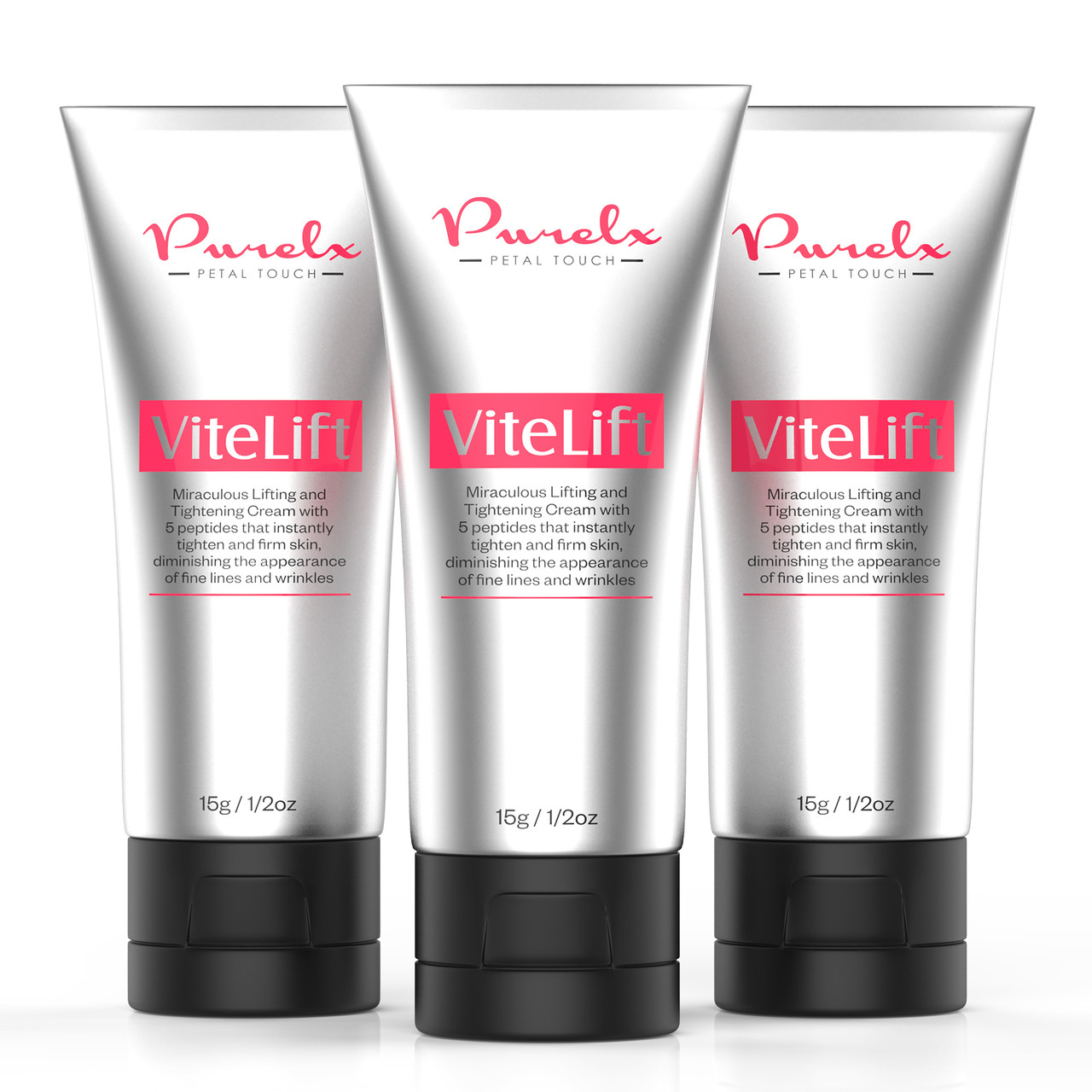 ViteLift Serum Instantly Tightens and Lifts Skin For a Visible Temporary Face lift.