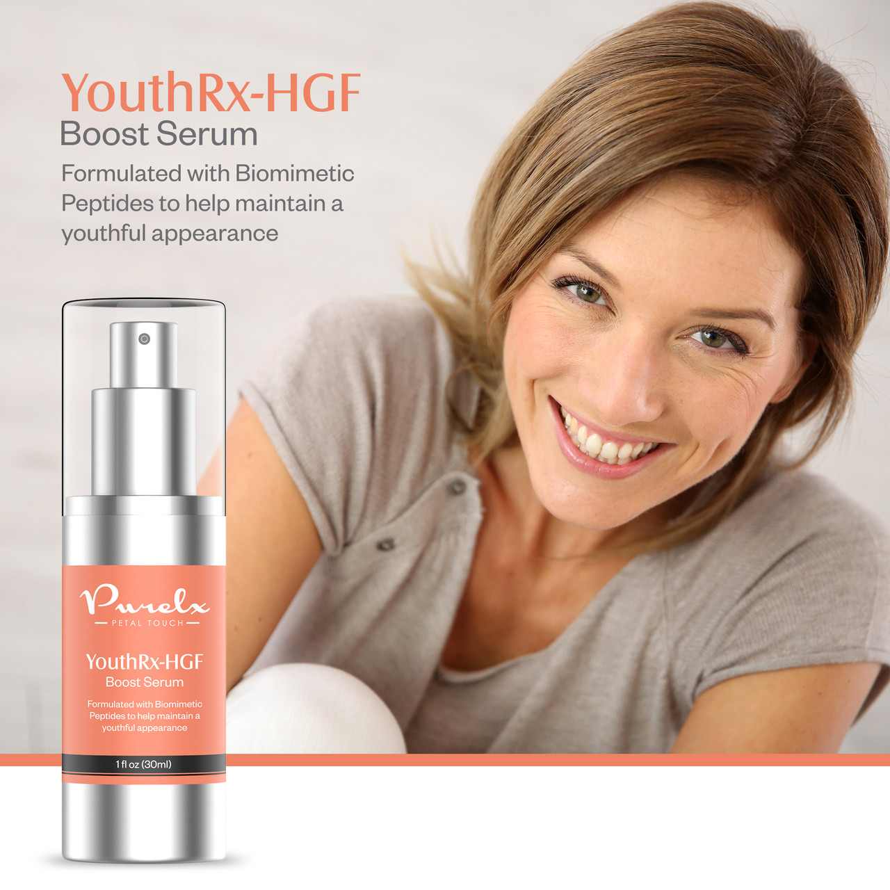 Simulating the fundamental hormones that define youth has allowed us to unlock this secret spring of age defying results. Enrich your appearance and look younger with this exceptional age restoring serum.