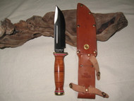 Attractive Ontario P3 Quartermaster knife besides the Sheath