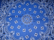 Royal Blue Paisley Badanna