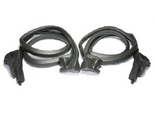 1984 - 1989 Corvette Door Weatherstrip (Pair)