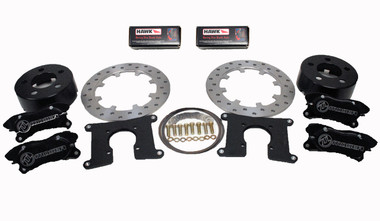 Dual Brake Kit available on all stage chassis.