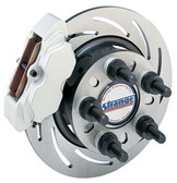 Strange Pro Race Billet Steel Rear Brake Kit With Slotted Rotors