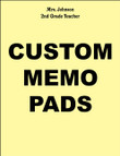 MEMO PADS, NOTEPADS, SCRATCH PADS! 24 Custom Personalized - $14.95