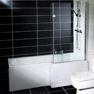 1500mm x 700mm Halle L Shaped Right Hand Bath