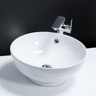 420mm Diameter Round Counter Top Basin