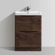 600mm Bali Chestnut Free Standing Cabinet & Basin