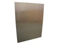 """24"""" x 18"""" gas fire back plate"""