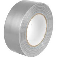 50mm x 50m Silver Duct Tape