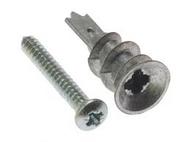 35mm Zinc Alloy Plasterboard Fixing (100)