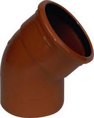 45° Underground Single Socket Bend