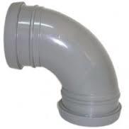 90° Double Socket Bend Grey