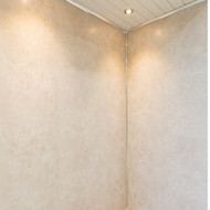 1m Matt Concrete Beige Widepanel