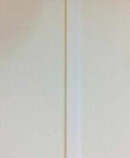 8mm White/White 2 Strip