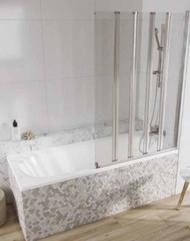 Scudo i6 Aqua Arm Bath Screen 5 Panel