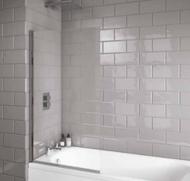 Scudo i6 Square Edge 6mm Thick Bath Screen